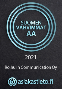 SV AA LOGO Roihu in Communication Oy FI 400918 web